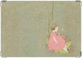 Обложка на паспорт с уголками, Little girl