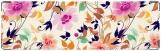 Визитница/Картхолдер, цветочные узоры