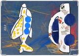 Обложка на паспорт с уголками, Детское творчество