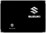 Обложка на автодокументы с уголками, suzuki
