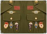 Обложка на военный билет, Знаки отличия