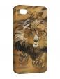 Чехол iPhone 4/4S, lion