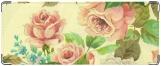 Кошелек, розы акварель