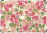 Обложка на паспорт с уголками, Roses