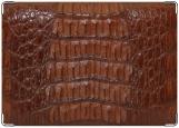 Обложка на паспорт с уголками, Крокодил 2