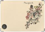 Обложка на паспорт с уголками, 5