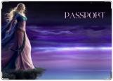 Обложка на паспорт с уголками, Сновидение