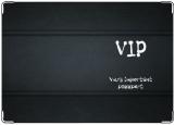 Обложка на паспорт с уголками, VIP