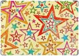 Обложка на паспорт с уголками, Звезды