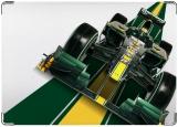 Обложка на автодокументы с уголками, Lotus F-1