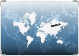 Обложка на паспорт с уголками, Россия