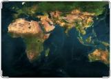 Обложка на паспорт с уголками, Земля
