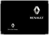 Обложка на автодокументы с уголками, renault