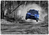 Обложка на паспорт с уголками, Subaru Rally