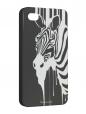 Чехол iPhone 4/4S, Текучая зебра