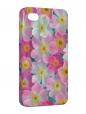 Чехол iPhone 4/4S, Нежные цветы