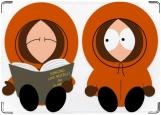 Обложка на паспорт с уголками, South Park