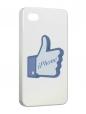 Чехол iPhone 4/4S, Лайк.