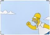 Обложка на паспорт с уголками, Гомер
