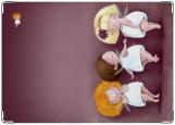 Обложка на автодокументы с уголками, Волшебные феи
