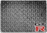 Обложка на автодокументы с уголками, GTR-сталь