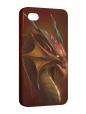 Чехол iPhone 4/4S, Дракон.
