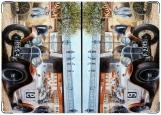 Обложка на автодокументы с уголками, авто