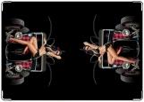Обложка на автодокументы с уголками, автоЛеди