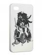 Чехол iPhone 4/4S, Красота-страшная сила