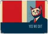 Обложка на паспорт с уголками, Yes We Cat