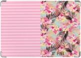 Обложка на паспорт с уголками, VS Pink