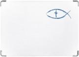 Обложка на паспорт, рыба символ христианства
