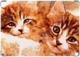 Обложка на паспорт, Кошки