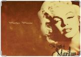 Обложка на паспорт с уголками, Мэрилин Монро
