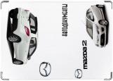 Обложка на автодокументы с уголками, Мазда2