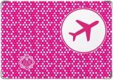 Обложка на паспорт с уголками, Самалет