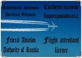 Обложка на медицинскую книжку, Обложка на свидетельство бортпроводника