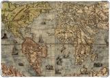 Обложка на паспорт с уголками, Old world #1