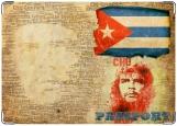 Обложка на паспорт с уголками, Куба