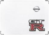 Обложка на автодокументы с уголками, Nissan GT-R