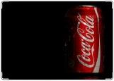 Обложка на паспорт с уголками, Coca-Cola