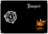 Обложка на паспорт с уголками, дракон