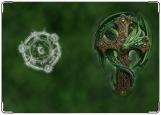 Обложка на паспорт с уголками, Змей