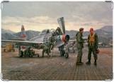 Обложка на военный билет, Аэродром