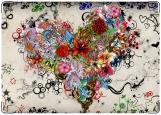 Обложка на паспорт с уголками, Сердце