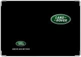 Обложка на автодокументы с уголками, LandRover