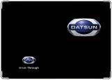 Обложка на автодокументы с уголками, DATSUN