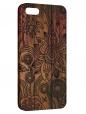 Чехол для iPhone 5/5S, Цветы на досках