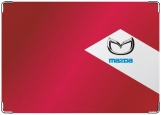 Обложка на автодокументы с уголками, Mazda
