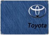 Обложка на паспорт с уголками, Toyota